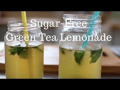 Sugar-free Green Tea Lemonade | Annie Clarke | Mind Body Bowl