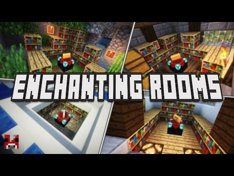 4 ENCHANTING ROOMS FOR SURVIVAL! (WORLD DOWNLOAD)
