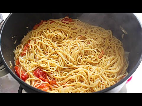ONE POT PASTA - How To Make One Pot Pasta - Simple Cooking Videos