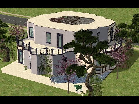 ♢ The Sims 2 ♢ Modern Japanese Inspired House ♢