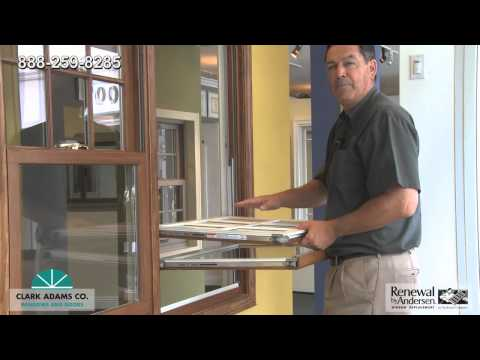 How To Clean a Renewal by Andersen Double Hung Window South Bay