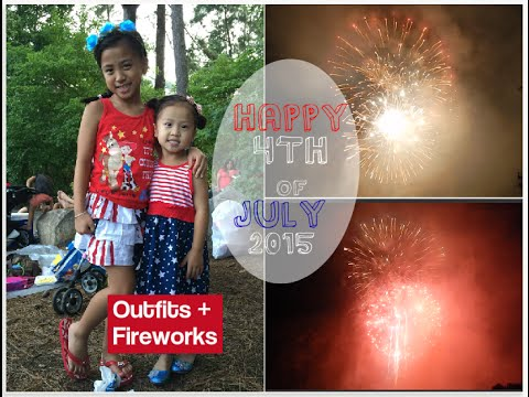 Fourth of July Outfits + Spectacular Fireworks Display 2015