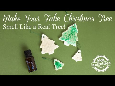 Make Your Fake Christmas Tree Smell Like a Real Tree!
