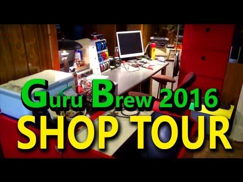 Shop Tour - Guru Brew 2016