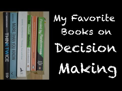 My Favourite Books on Decision Making