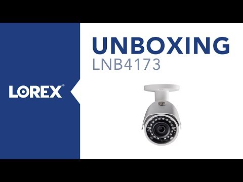 Unboxing the LNB4173 IP Bullet Security Camera