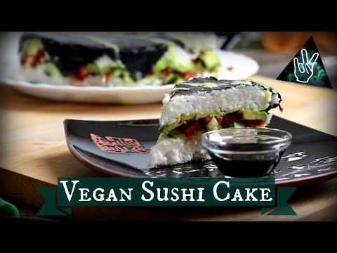 Vegan Sushi Cake #MMM39 | JilTheReal #sssveda 5