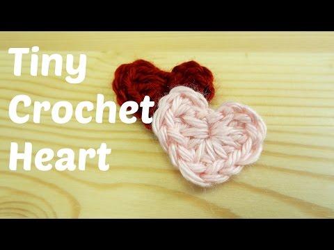 Tiny Crochet Heart