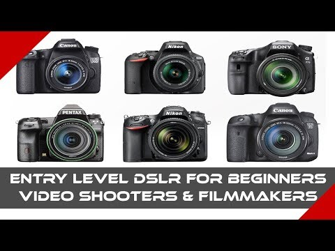 Entry Level DSLR For Beginners Video Shooters & Filmmakers