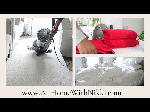 CLEAN WITH ME | AFTER CHRISTMAS CLEANING