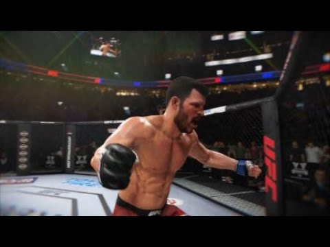 EA SPORTS™ UFC® 3 i check the leg kick and he broke his leg