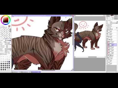 SPEEDPAINT [Warrior Cats] ~Scourge and Tigerstar~ [PaintToolSai]