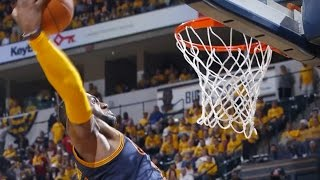 LeBron James RIPS the Pacers Hearts Out with NASTY Dunk After Leading 25-Point Comeback
