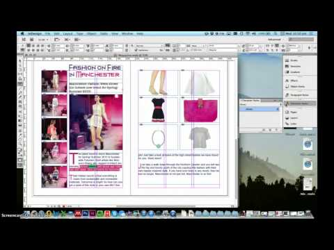 InDesign Tutorial: 2 Page Magazine Spread | Design eLearning Tutorials