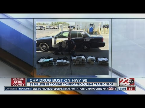 83 Kilos Of Cocaine Found During Chp Drug Bust