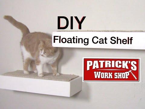How To Make  DIY Floating Cat Shelf