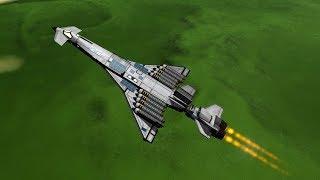 KSP - Airbreathing Cross Range Capable Shuttle Booster Test