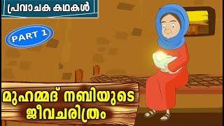 മുഹമ്മദ് നബി (SA) Prophet Stories   Quran Stories Malayalam   Malayalam Animation For Children 4K