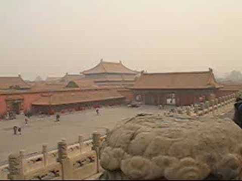 China, the Forbidden City and the Temple of Heaven