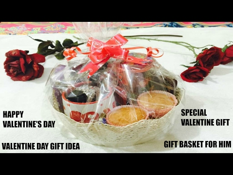 How to make Gift Basket for Birthday 4 him/VALENTINE'S DAY GIFT IDEA|GIFT BASKET FOR HIM -Ft Namrata