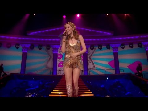 Kylie Minogue -  Love at First Sight/Can't Beat The Feeling (Aphrodite Les Folies Tour)