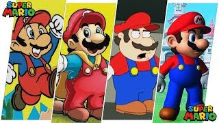 Mario Evolution in Movies, Cartoons & TV