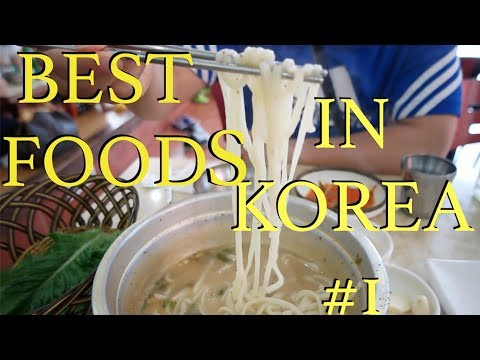 ♡ Best Foods In Korea ♡   Shindo Kalguksu