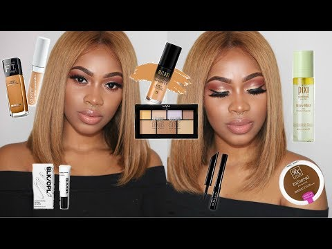 Full Face Glam Using DRUGSTORE & AFFORDABLE Products! | Dana Alexia