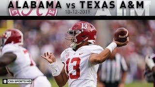 Alabama vs Texas A&M Breakdown: Tagovailoa breaks Alabama career TD record vs Aggies | CBS Sports HQ