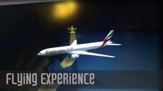 Air Turbulance   Experience Flying thru Bad Turbulence (Night)   DXB - JFK