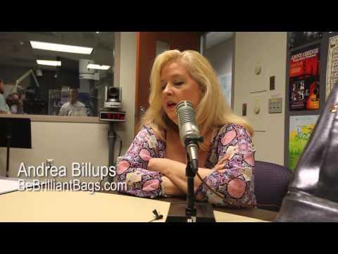 Andrea Billups - BeBrilliantBags.com - Lansing Online News Radio