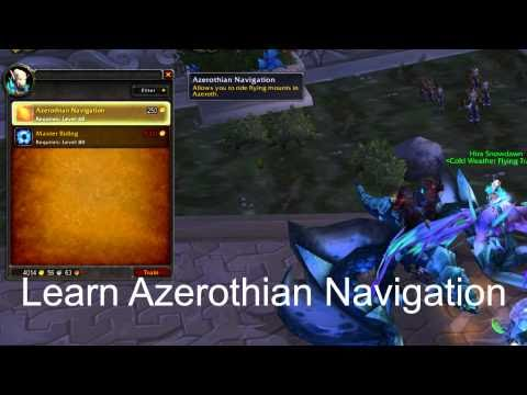 How To: Fly in Cataclysm