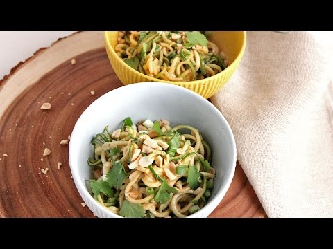 Zoodles with Peanut Sauce   Episode 1051