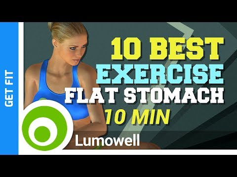 10 Best Exercise to Flatten Your Stomach