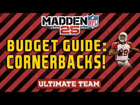 Madden 25 Budget Cornerbacks! The  BEST and CHEAPEST CBs in MUT 25
