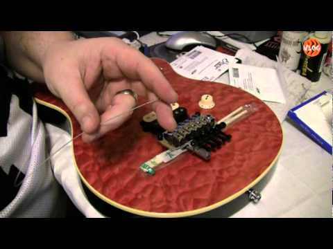 Floyd Rose String Change - Non Floating- MULLY