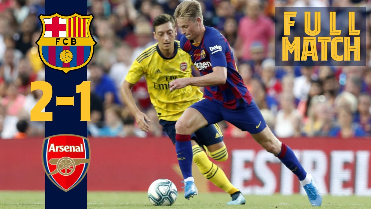 FULL MATCH: Barça 2 - 1 Arsenal (2019) New faces shine in the Joan Gamper Trophy!