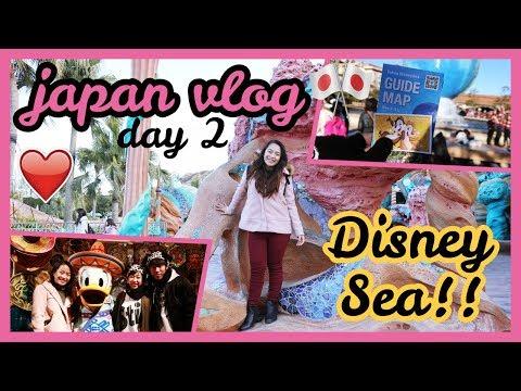 JAPAN VLOG DAY 2 - DISNEYSEA!!! | Philippines