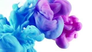 Ink in Water Background (720p)