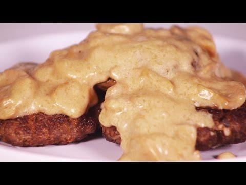 Jollibee Burger Steak Recipe