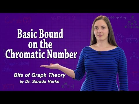 Graph Theory: 66. Basic Bound on the Chromatic Number