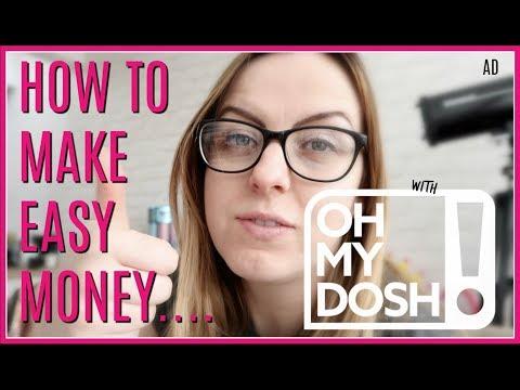 HOW TO MAKE EASY MONEY WITH OHMYDOSH.CO.UK | MUMDAYS | AD