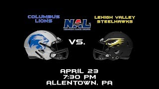 NAL Playoff Game- Lions vs. Steelhawks