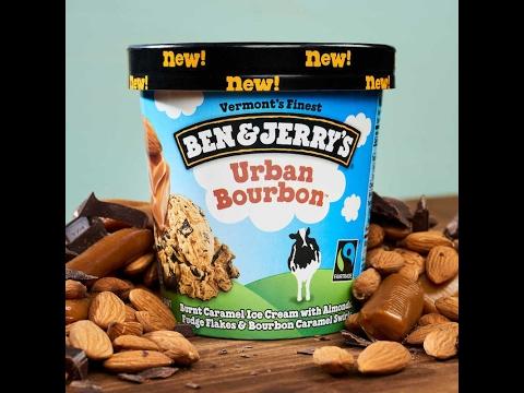 Ben & Jerry's Urban Bourbon Ice Cream Review