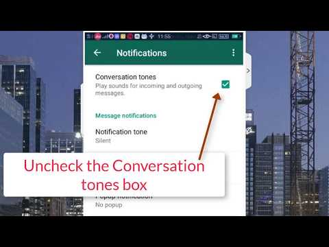How to stop WhatsApp Notification on your android device