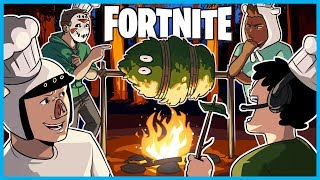 How to COOK a BUSH in Fortnite: Battle Royale! (Fortnite Funny Moments)