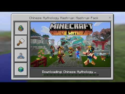 How To Have All The Skin & Texture Packs For Free Minecraft Pocket Edition Android