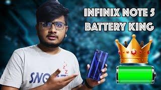 Infinix Note 5 in Pakistan | Battery King 👑👑👑👑👑👑