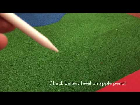 How to check battery status of Apple Pencil on iOS 11