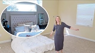 MASTER BEDROOM REVEAL! (Before and After)